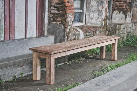 Ławka z teczyny - model Dingklik