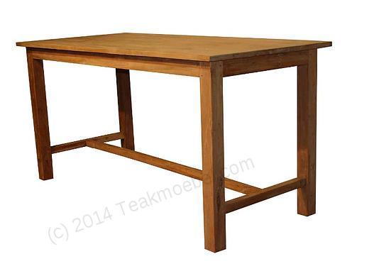 Tekowy stół barowy 200x100cm