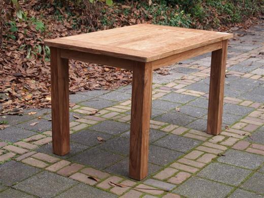 Tekowy stół ogrodowy 120x80cm