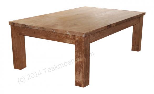 Tekowy stolik kawowy 120 x 80